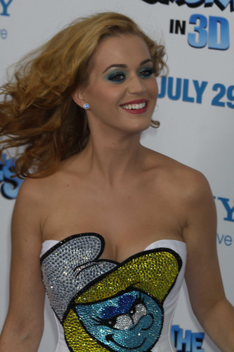 The Smurfs Premiere In New York [24 July 2011] - katy-perry Photo