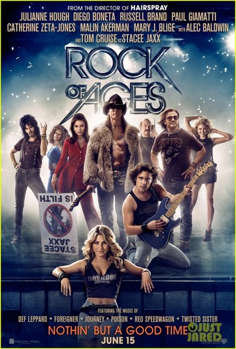 Tom Cruise: New 'Rock of Ages' Posters!