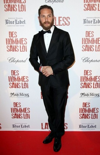 Tom Hardy - Lawless - After Party - Cannes