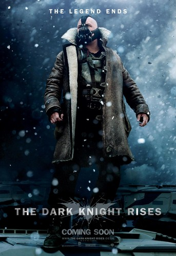 Tom Hardy as Bane in 'The Dark Knight Rises' Poster (HQ)