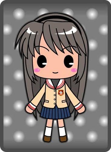 Tomoyo Fan Art