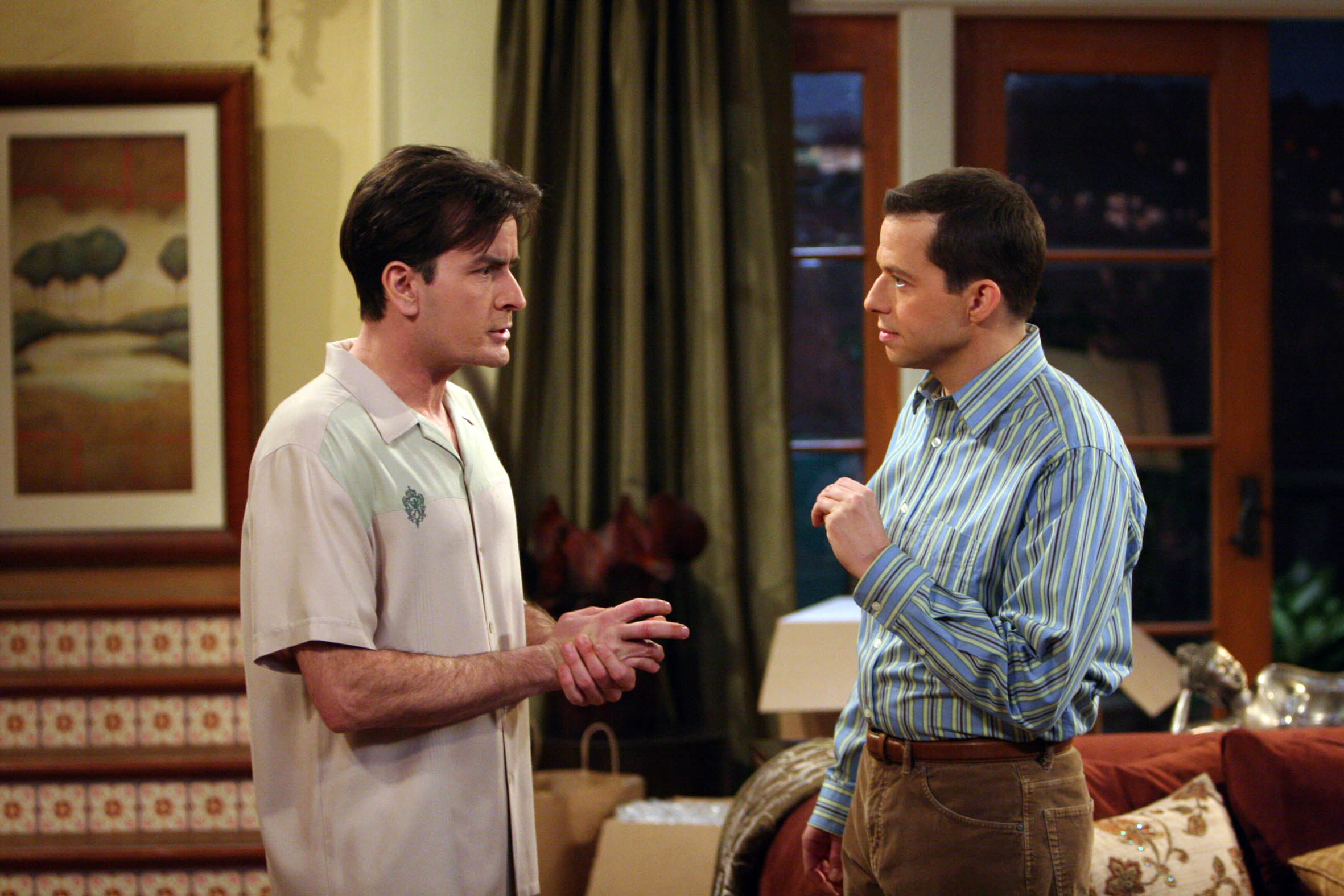 Charlie Sheen images Two And A Half Men wallpaper photos ...