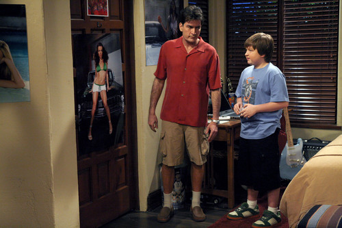Charlie Sheen Images Two And A Half Men Hd Wallpaper And Background Photos 30903276