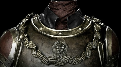 Tyrion Lannister wallpaper with a breastplate, a fauld, and an armor plate titled Tyrion's Armor