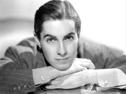 Tyrone Power wallpaper probably containing a sign and a living room entitled Tyrone Power