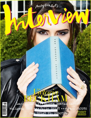 Victoria Beckham Covers 'Interview Germany' June/July 2012