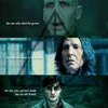 Voldemort, Snape, and Harry