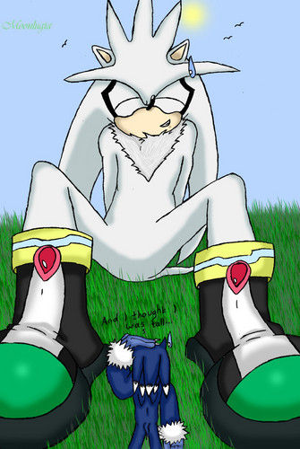 Silver the Hedgehog wallpaper with anime called WTF HAPPEND TO SILVER?!