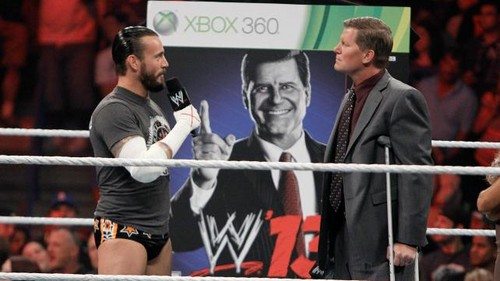 CM Punk wallpaper entitled WWE 13 unveiling