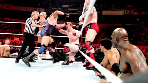 Jack Swagger wallpaper called WWE Raw 22/05/12
