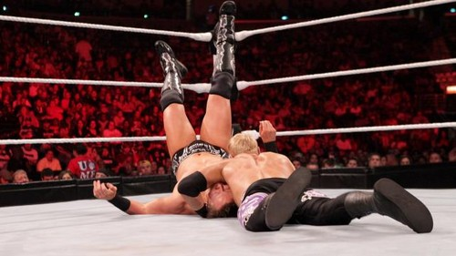 WWE Raw Christian Vs The Miz - wwe Photo