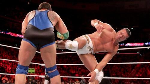 WWE Raw Del Rio vs Marella