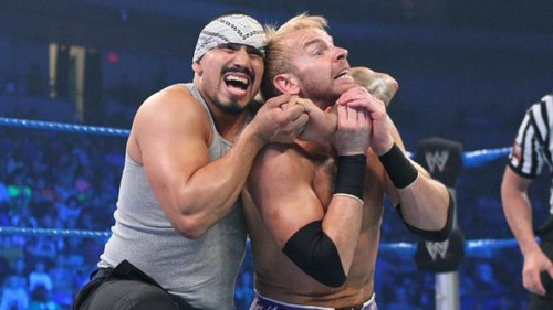 WWE Smackdown Christian vs Hunico