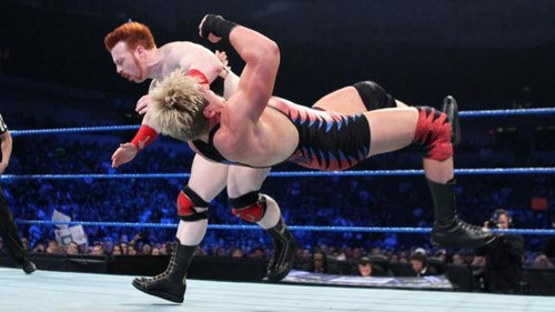 WWE Smackdown Swagger vs Sheamus - jack-swagger Photo