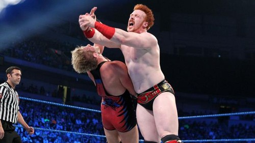 Jack Swagger wallpaper called WWE Smackdown Swagger vs Sheamus