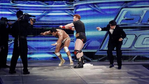 WWE Smackdown triple threat - wwe Photo