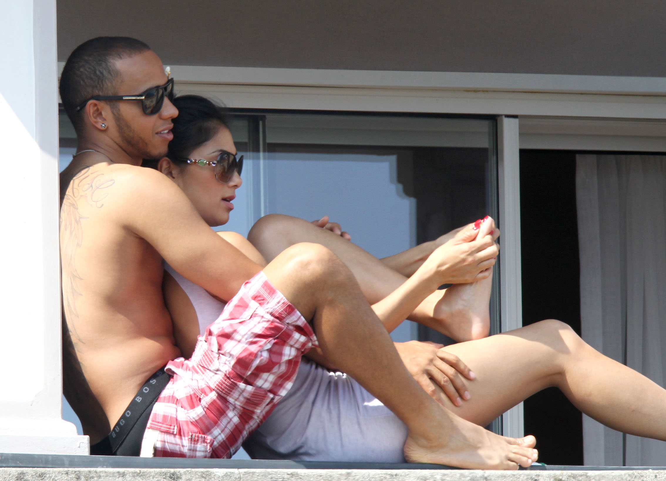 Wearing A Bikini In Italy [29 May 2012]