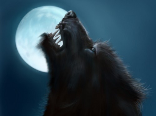 Fantasy wallpaper called Werewolf
