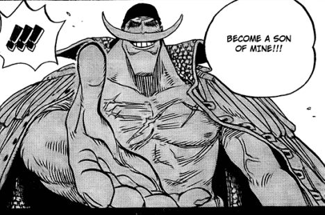 Whitebeard to his sons
