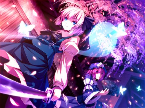 Youmu and Yuyuko (Touhou)