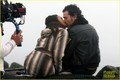 Zoe Saldana & Billy Crudup: 'Blood Ties' Kisses - zoe-saldana photo