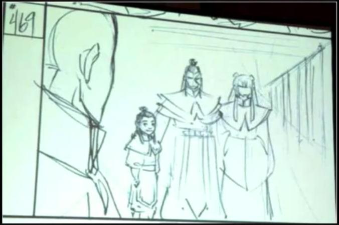 Zuko & Mai's daughter leaked storyboard capture