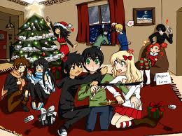 a percy jackson クリスマス