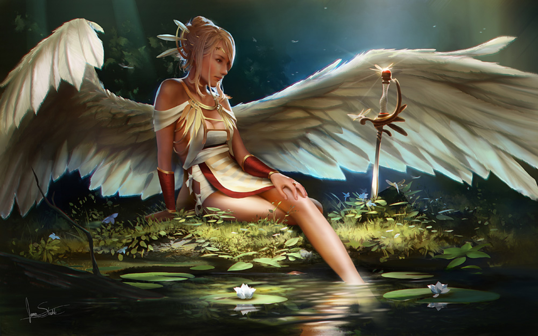 angel photoshop fantasy famale - photo #13