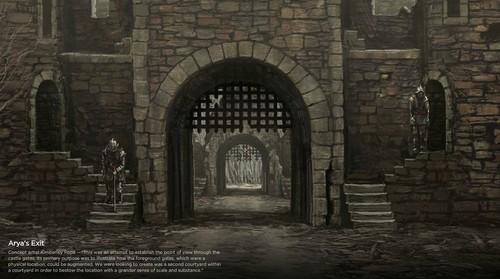 Arya's exit concept art