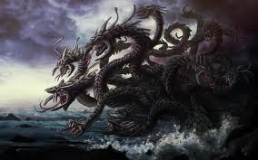 dark mythical sea creatures