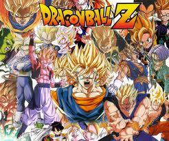 Dragon Ball Z karatasi la kupamba ukuta with anime called dbz