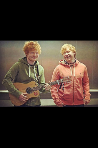 """ed and rupert """"the twins"""""""