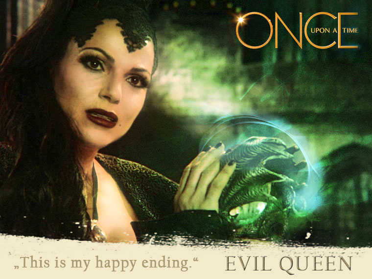 Once Upon A Time Images Evil Queen Poster D HD Wallpaper And Background Photos