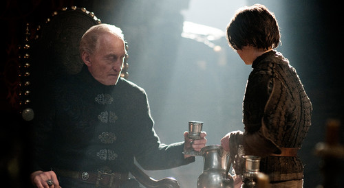 Tywin Lannister & Arya Stark