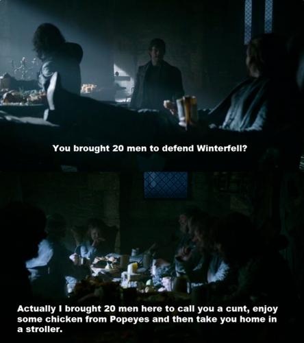 Asha & Theon Greyjoy