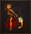 gypsy woman - total-drama-island fan art