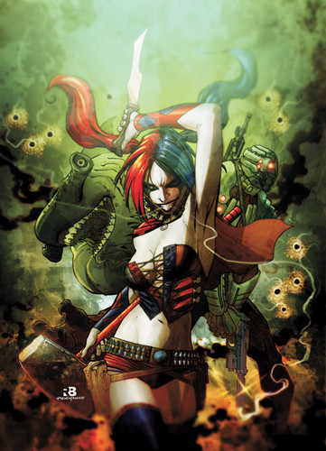 Harley Quinn wallpaper possibly with animê entitled harley quinn