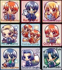 harry potter charater Chibi
