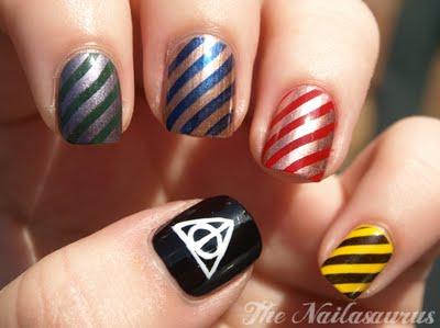 hogwarts nails