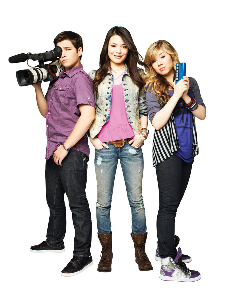 Miranda Cosgrove and Jennette McCurdy iCarly