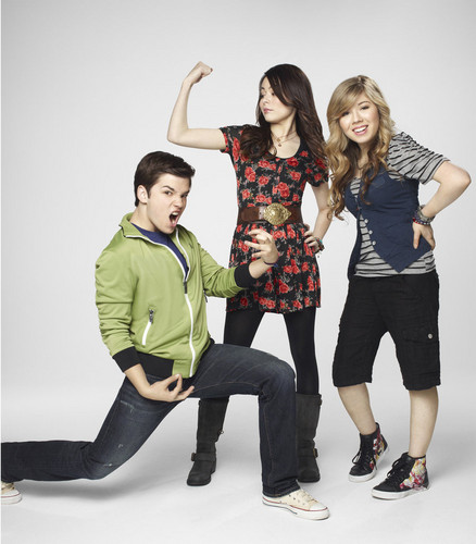 iCarly wallpaper possibly containing an outerwear, long trousers, and a hip boot called iCarly