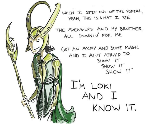 im Loki & i know it - the-avengers Fan Art