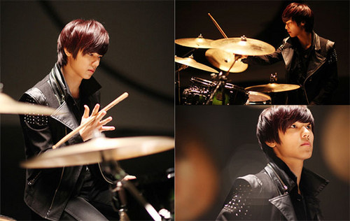 Kang Min Hyuk 壁纸 with a drummer, a tympanist, and a 音乐会 entitled kang min hyuk ♥♥♥