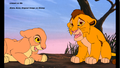 kopa and his liitle sister - the-lion-king-2-simbas-pride photo