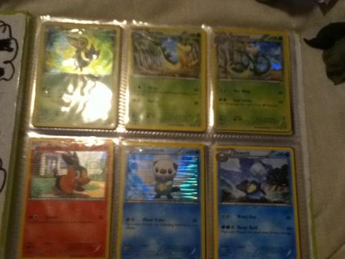 my unova pokemon cards