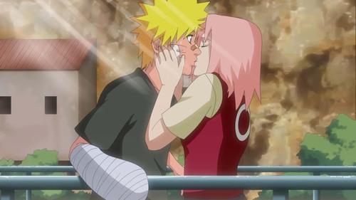narusaku ciuman