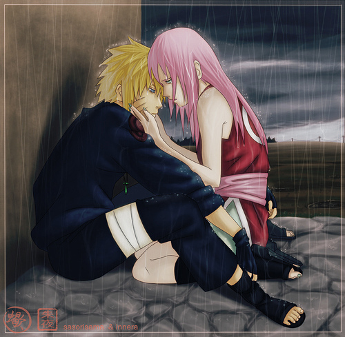 Naruto Couples wallpaper possibly containing a hip boot titled naruto ...