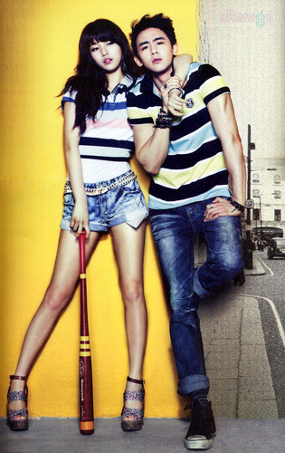 nick khun with miss a