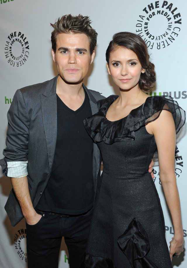 Nina Dobrev and Paul Wesley images nina and paul paley ...