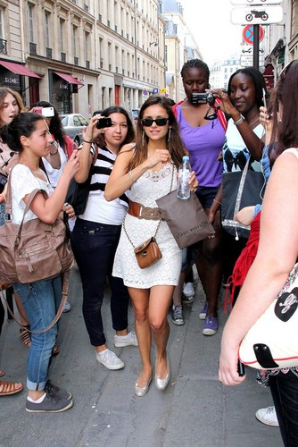 nina in paris - nina-dobrev Photo